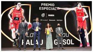 Garbajosa, Pau Gasol, Laia Palau y Gallardo