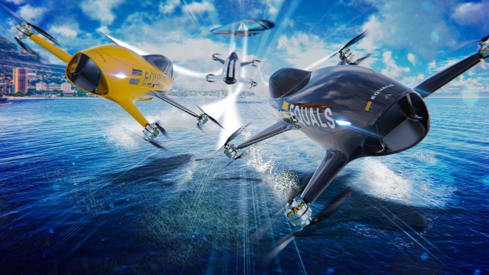 Porsche volador - aero-taxi - drones voladores - coches voladores - VTOL - Porsche Consulting
