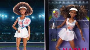 La Barbie inspirada en Naomi Osaka se agotó.