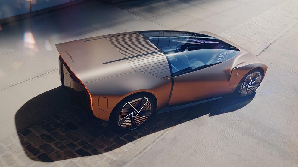 Pininfarina Teorema - concept car - prototipo - realidad virtual - coche autonomo - coche electrico