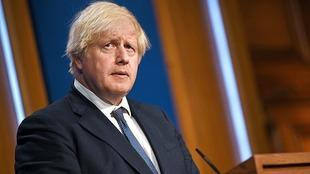 Boris Johnson, primer ministro británico, indignado por el racismo.