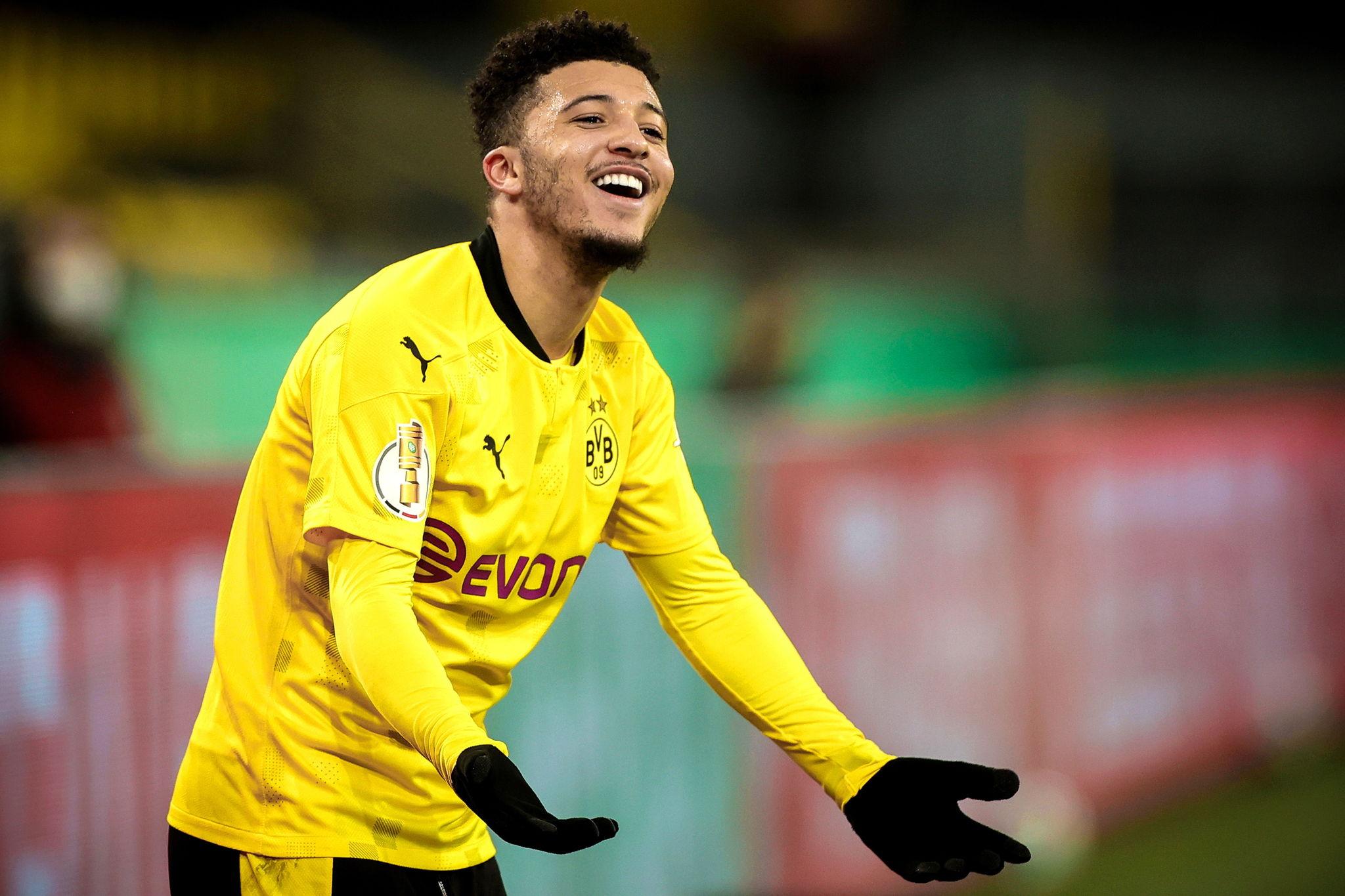Jadon Sancho with Dortmund