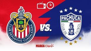 Chivas vs Pachuca: Horario, cómo y dónde ver en vivo y en directo...