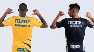 Tigres y Monterrey, listos para el Apertura 2021 con un nuevo logo:...