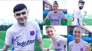 El Barça presenta su camiseta más feminista... sin Griezmann