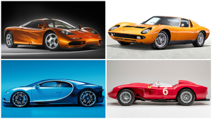 Los coches mas bonitos del mundo - McLaren F1 - Lamborghini Miura -...