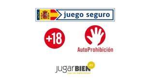 Los logos que indican qué portales garantizan el juego seguro