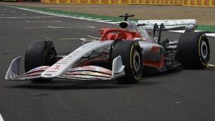 Así es el imponente F1 de 2022 presentado en Silverstone.