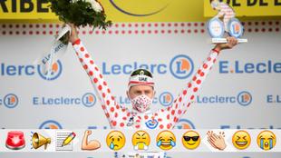 El Tour en el que Pogaçar se llevó hasta el maillot de la montaña... ¡sin querer!