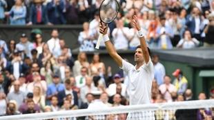 Djokovic at Wimbledon