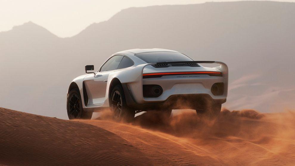 Gemballa Marsien - Porsche 959 - París-Dakar - todoterreno - coches deportivos