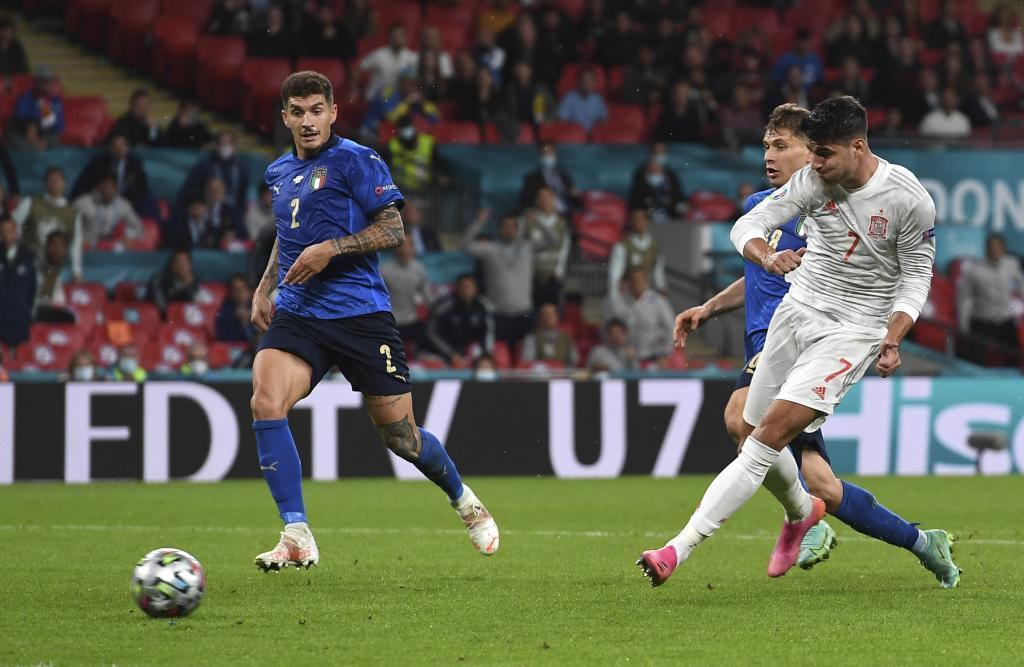 Gol de Morata ante Italia.