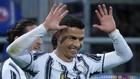 Cristiano Ronaldo celebra uno de los goles que ha marcado con la...