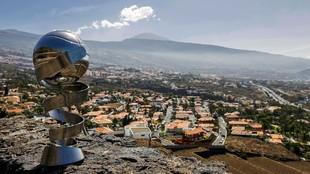 El trofeo de la Supercopa Endesa, en Tenerife.