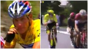 El polémico gesto de Pogacar que recuerda lo peor de Armstrong: ¿Llevaba razón?