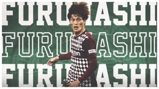 El Celtic anuncia el fichaje de Kyogo Furuhashi.