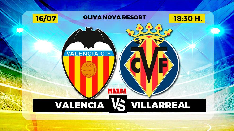 Valencia, Villarreal, en directo.