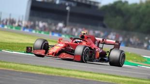 Carlos Sainz, durante la clasificación del Gran Premio de Gran...