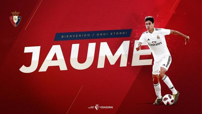 Presentación de Jaume Grau en Osasuna tras salir del Real Madrid.