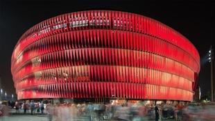 San Mamés, estadio del Athletic Club de Bilbao