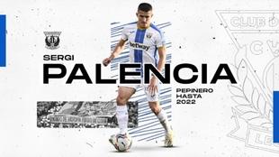 Sergi Palencia (25) ya es nuevo jugador del Leganés.