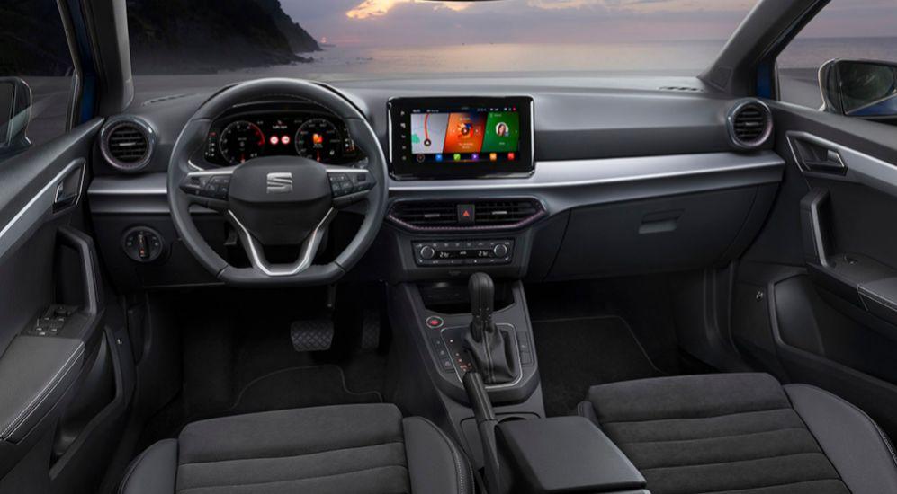 Interior del Seat Ibiza 2021 con acabado Xcellence.