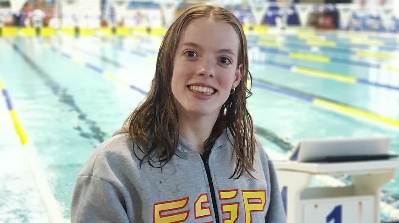 Marta Fernández Infante, nadadora paraolímpica que representará a España en Tokio.