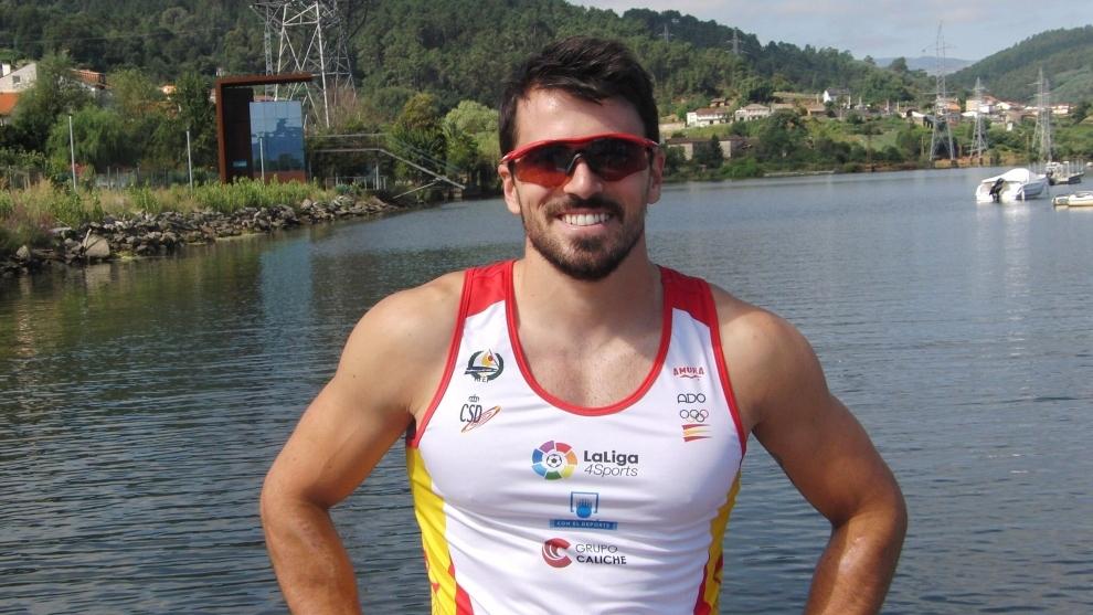 Paco Cubelos, piragüista español que estará presente en los Juegos de Tokio.