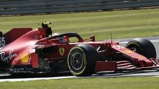 Carlos Sainz, durante el Sprint del GP de Gran Bretaña 2021.