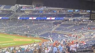 The Washington Nationals' stadium