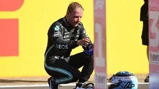 Bottas, tras ser tercero en la Clasificación Sprint del GP de Gran...