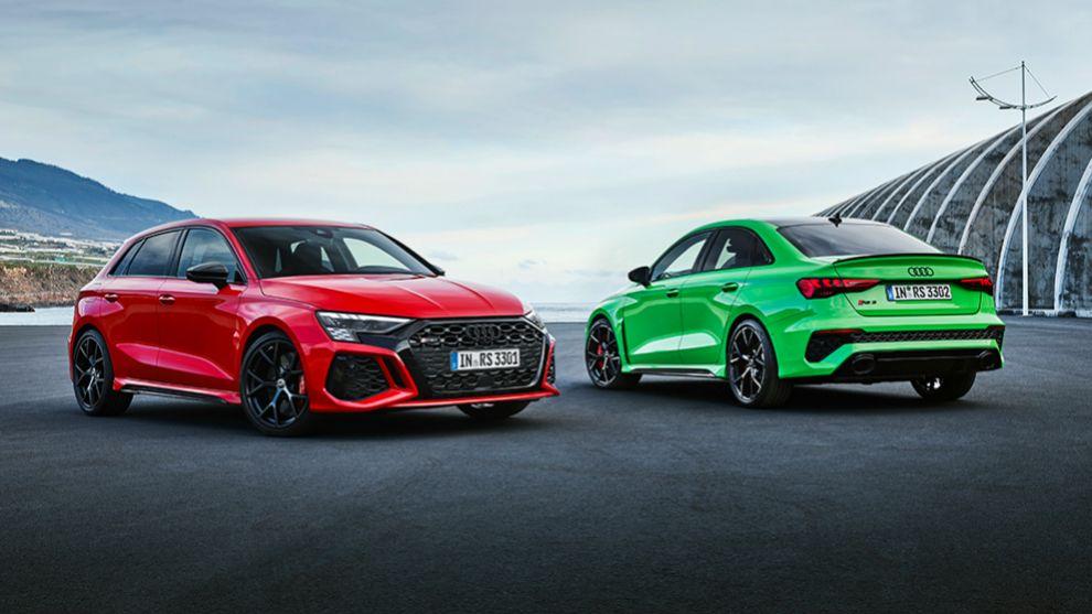 Audi RS 3 2021 - compacto deportivo - 400 CV - Torque splitter - coches deportivos