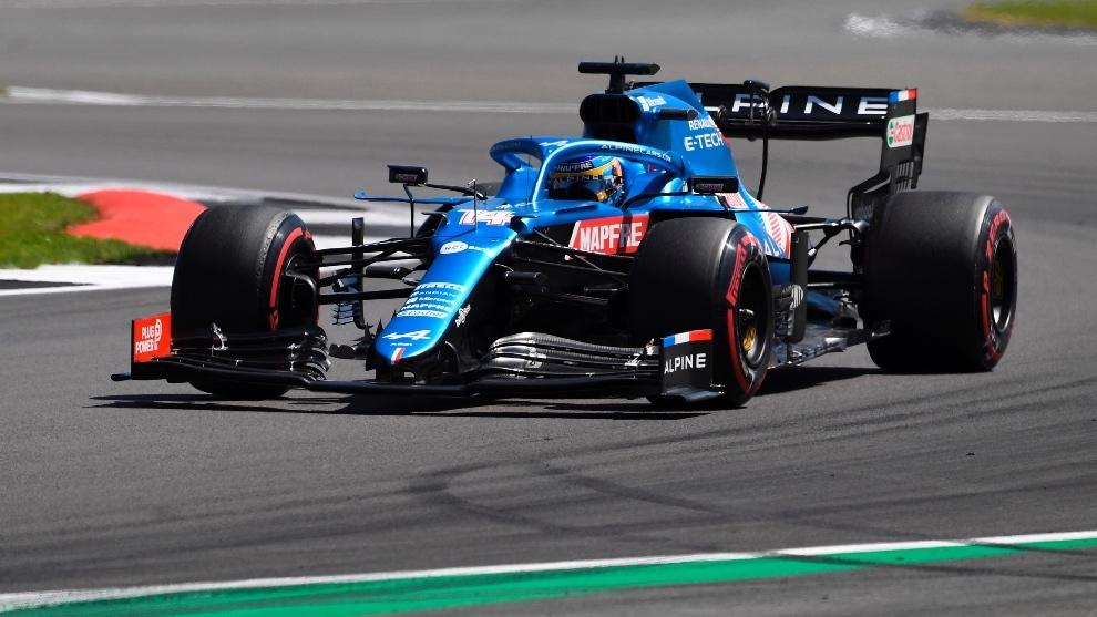 Hachazo de Hamilton; Sainz termina sexto y Alonso séptimo