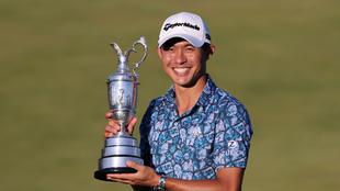 Collin Morikawa es primer jugador en ganar dos majors diferentes en su...