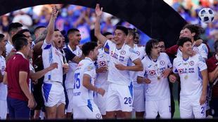 ¡Cruz Azul es el Campeón de Campeones de la Liga MX!