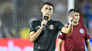Moreno habla del triunfo del Tri en la Copa Oro.