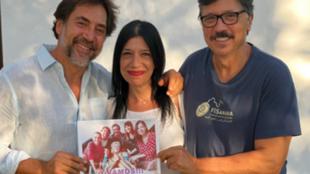 Javier Bardem - Pilar Bardem - Carlos Bardem - Mónica