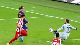 Griezmann against Atletico.