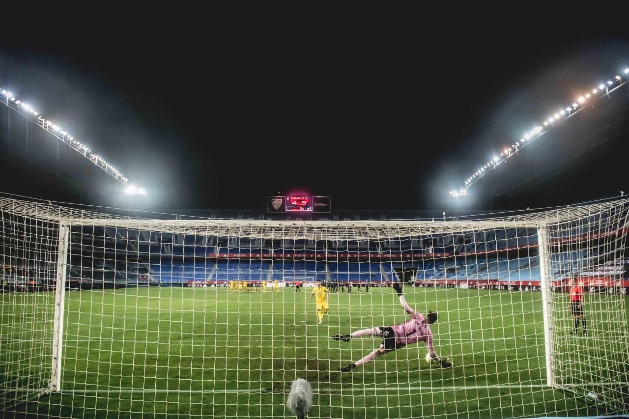 El penalti decisivo en La Rosaleda hace justo un año