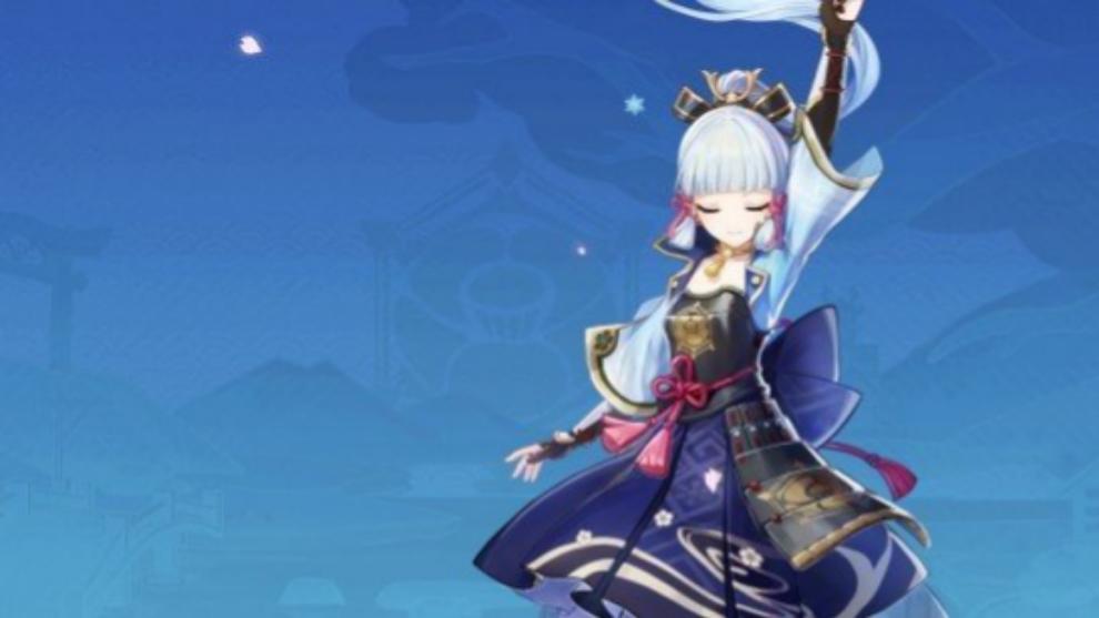 Kamisato Ayaka,  nuevo personaje de la actualización 2.0 de Genshin Impact