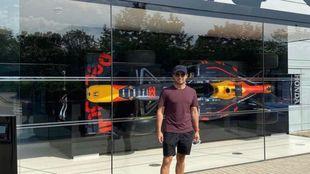 Checo Perez Red Bull