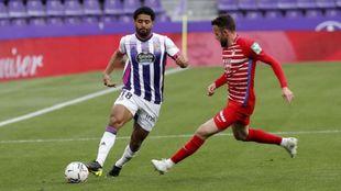 Janko, en el partido liguero ante el Granada