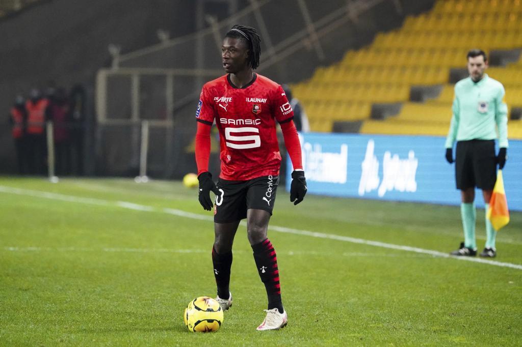 Eduardo Camavinga, jugador del Rennes