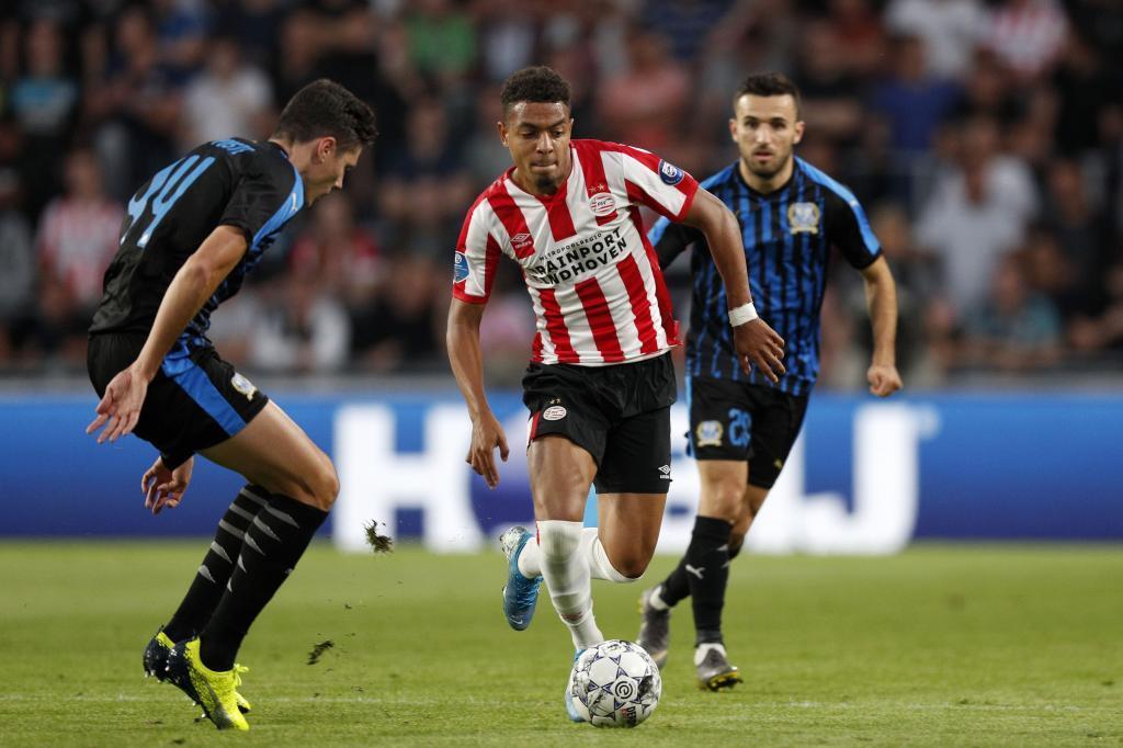 Donyell Malen, jugador del PSV