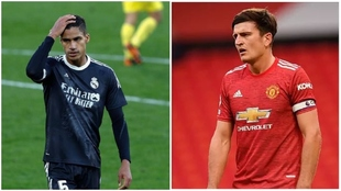 Varane and Maguire