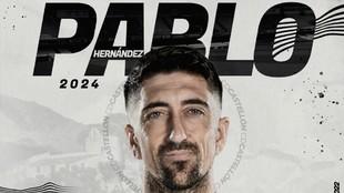 Pablo Hernández vuelve a casa.