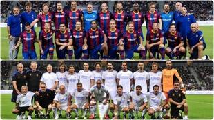 Si adivinas todos, tienes un memorión: los exjugadores de Madrid y Barça que han jugado el Clásico de Leyendas