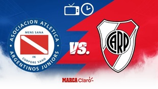 Argentinos Juniors vs River Plate: Horario y dónde ver en vivo.