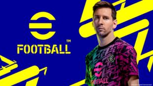 Messi, imagen de nuevo de efootball