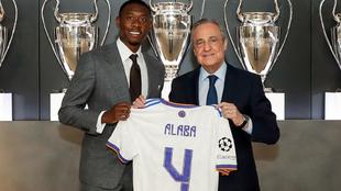 David Alaba presentación Real Madrid